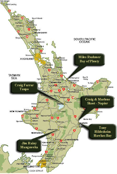 North Island Fishing Guides