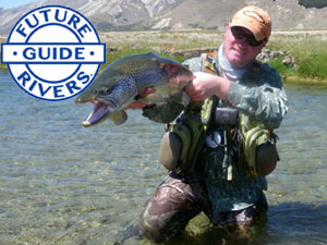 Chris Dore Queenstown fly fishing guide