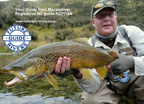 Paul Macandrew - Wanaka Fly Fishing Guide